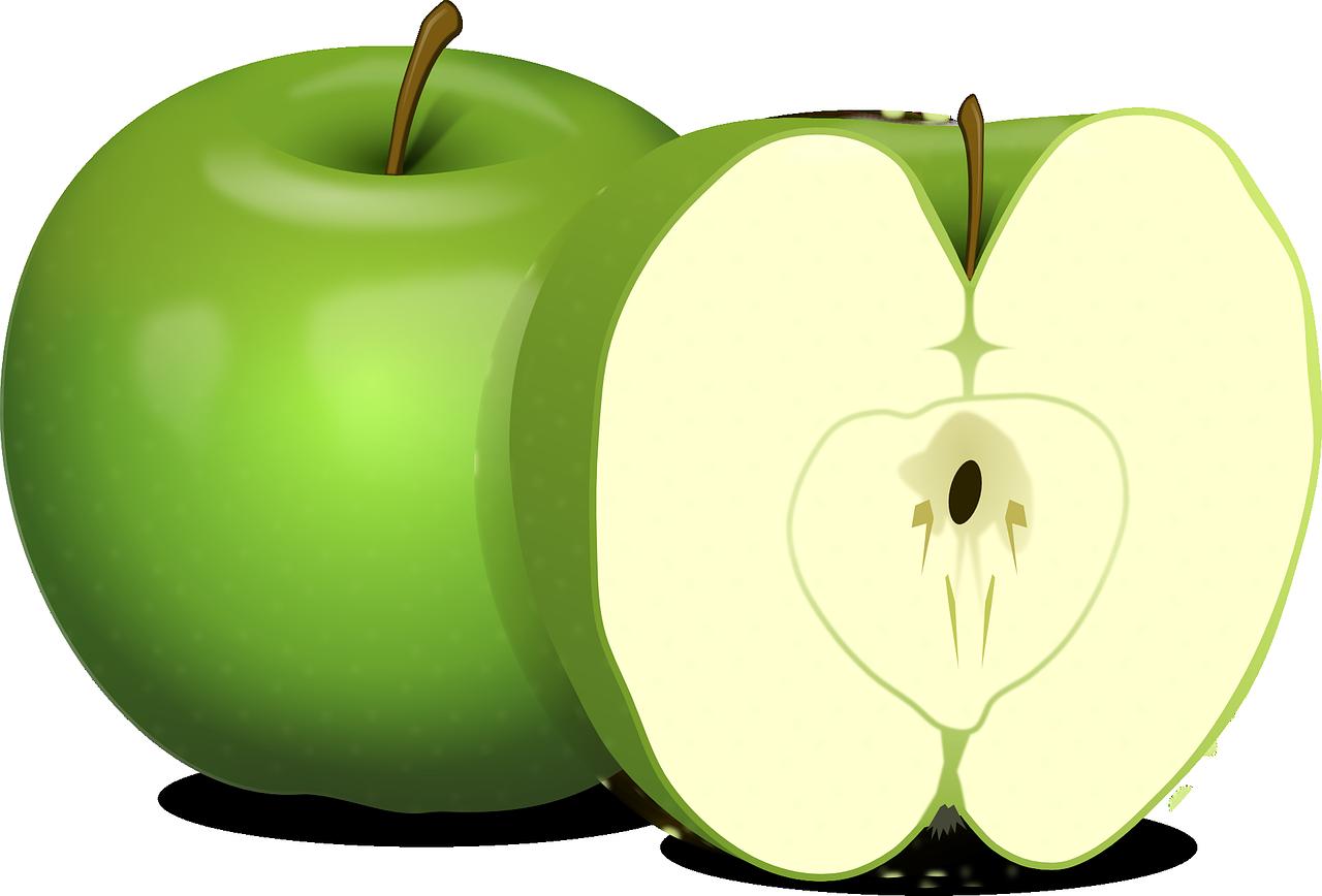 apples, green, fruit